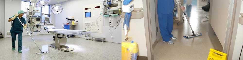 Limpieza y desinfección en clínicas