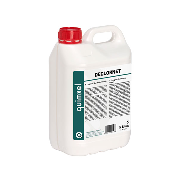 Limpiador de superficies clorado Declornet