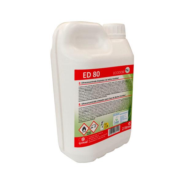 ED80 ultraconcentrado limpia baños
